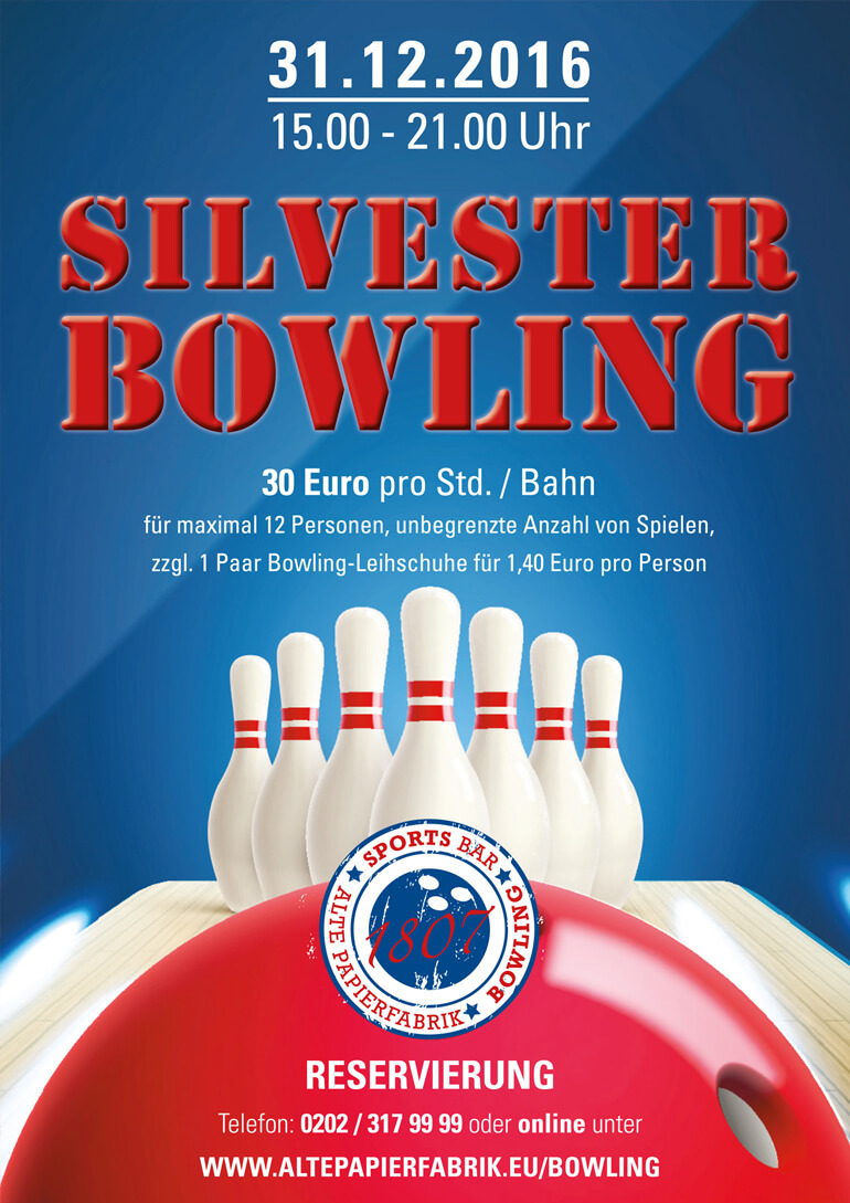 Silvester Bowling 2016